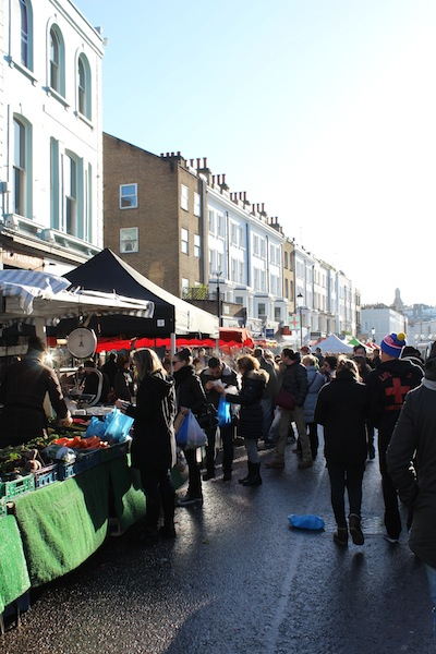 Portobello Market weekend