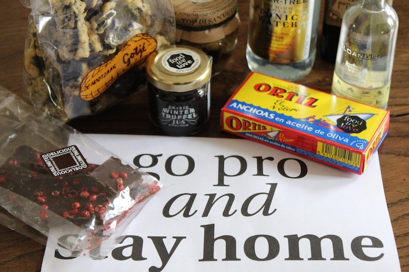 Food we love box : go pro and stay home